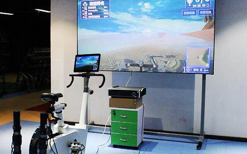 Intelligent spinning bikes and smart treadmill