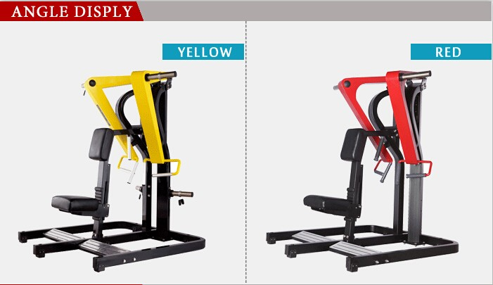 BFT1004 Plate Load low row /hammer strength for gym