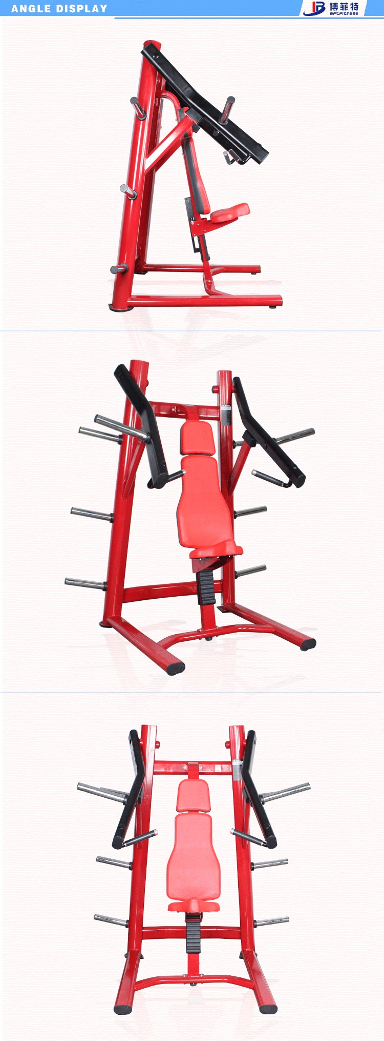 Bft5011 Seated Incline Chest Press Bft Fitness Equipment