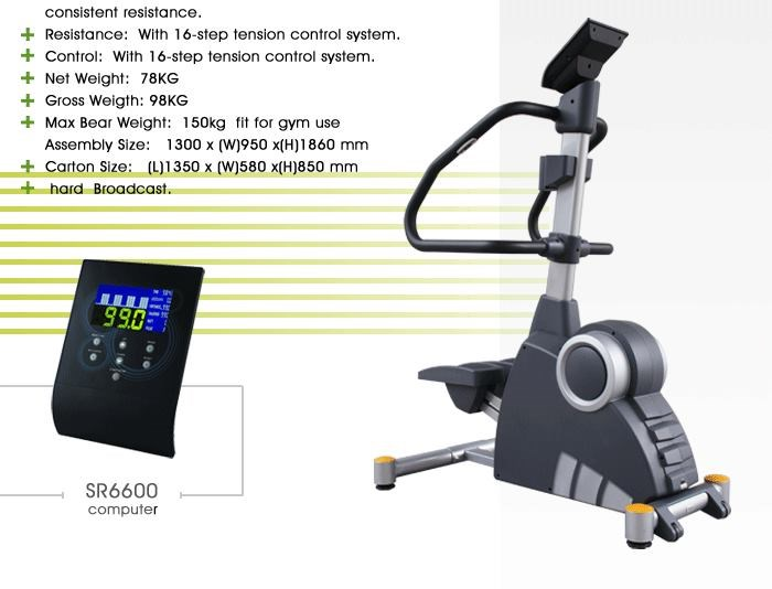 electric stepper exercise machine