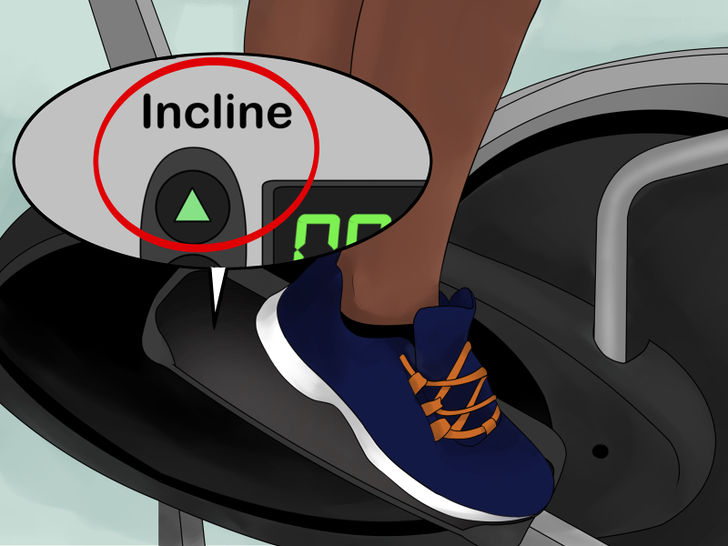 Get comfortable adjusting the incline level.