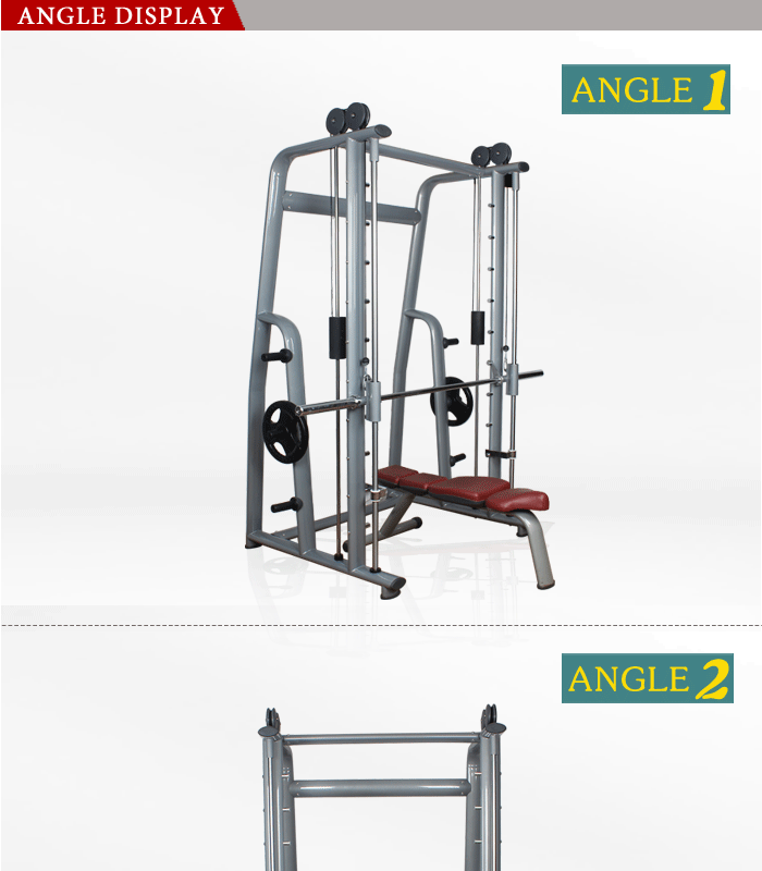 BFT-2024 Wholesale Gym Exercise Equipment Smith Machine/ multifunctional fitness machine For Gym