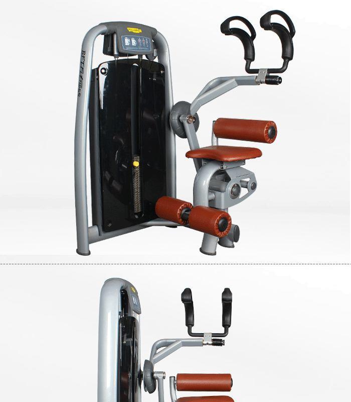 total abdominal machine