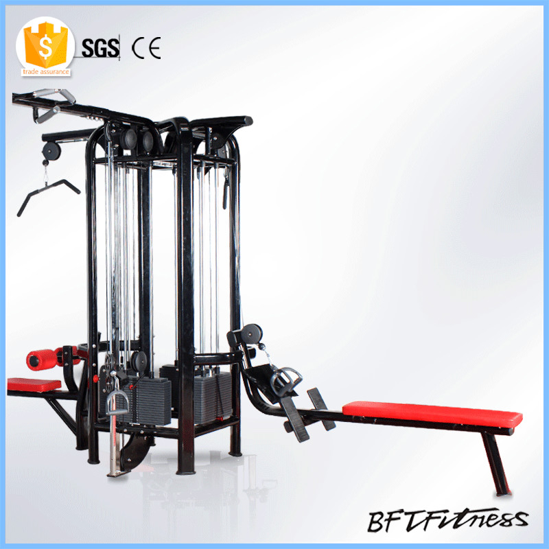 fitness strength multi cable machine