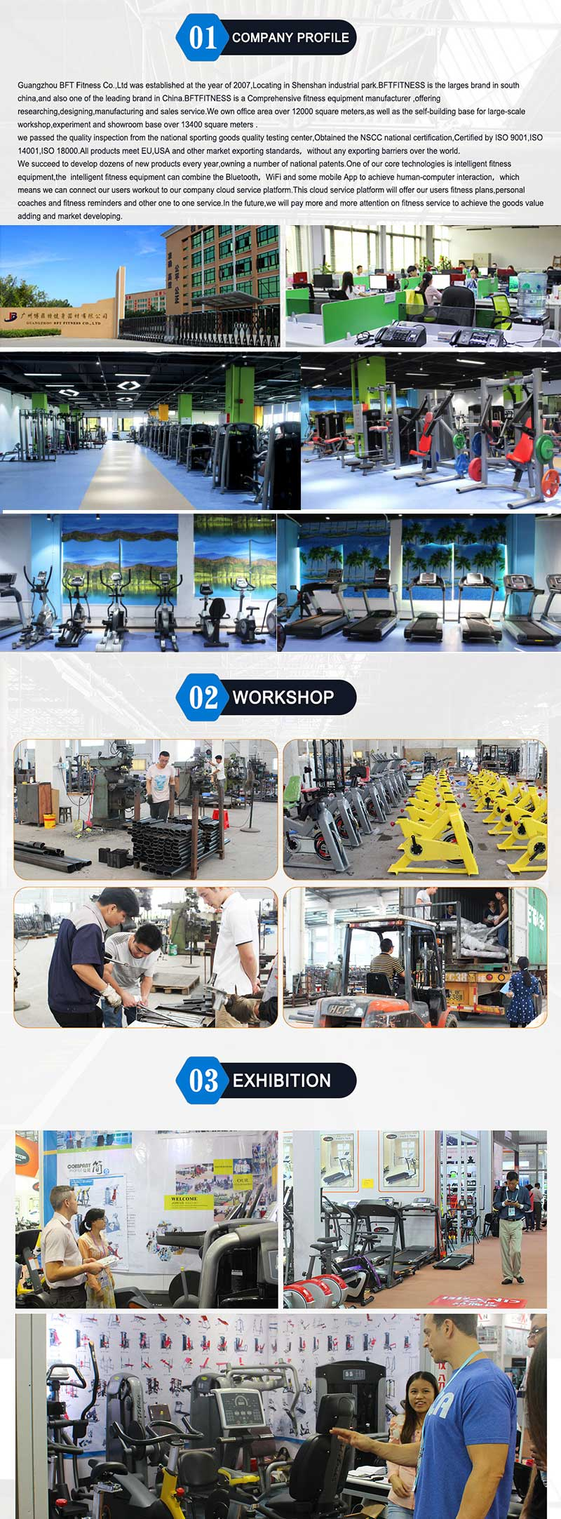 gym equipment  factory