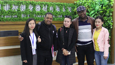 Malawi Customers Come To China
