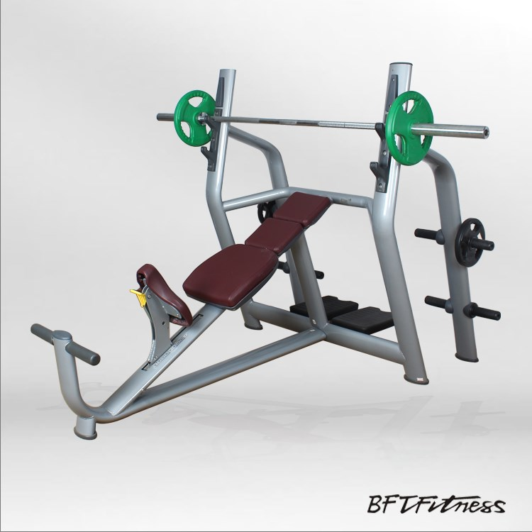 gym machine Incline bench/Commercial dumbbell weight bench BFT-2028