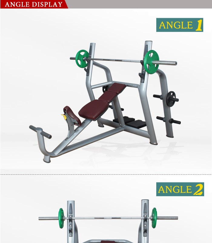 Commercial dumbbell weight bench For sale