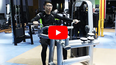 How to Use Upper Back Strength Machine - BFT Fitness Equipment Factory