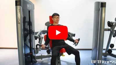 BFT Fitness Biceps Curl Machine Video
