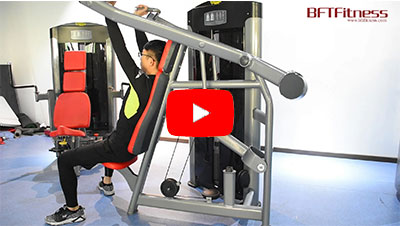 The BFT Fitness Shoulder Press Machine Exercise Video