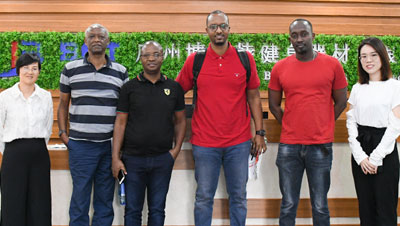 Burundi customers come to China